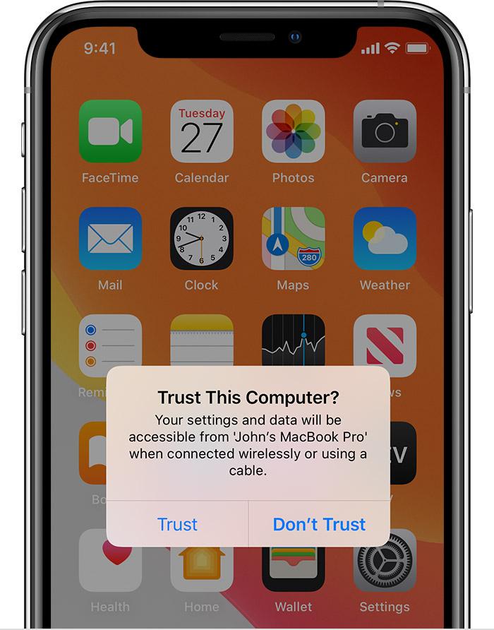 cara backup data dari iphone ke laptop